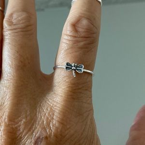 🌴🌴NEW🌴🌴 Sterling Silver Little Dragonfly Ring